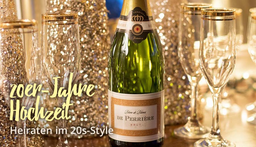 20er Jahre Hochzeit So Feiert Ihr Im Great Gatsby Stil