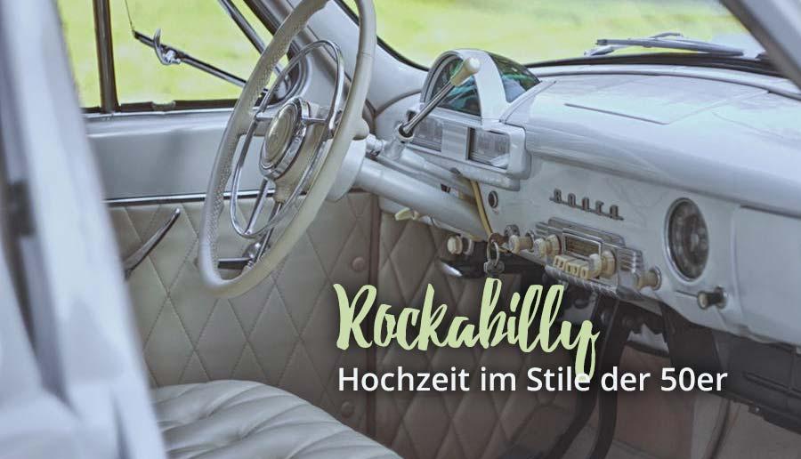 Rockabilly Hochzeit Inspirationen Fur Eure 50er Jahre Hochzeit